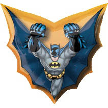 Batman Supershape mylar balloon