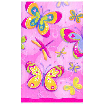 Butter/dragonfly Plastic Tablecover 135cm * 255cm