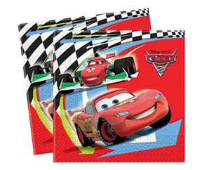 Disney Cars Luncheon Serviettes