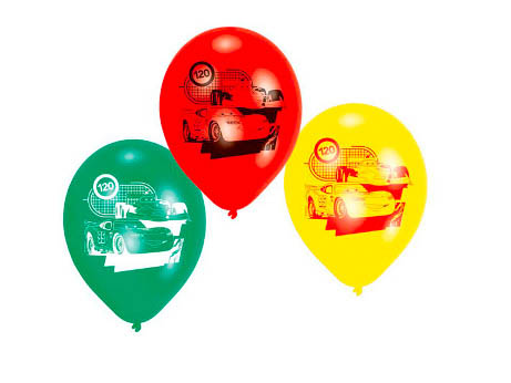 Disney Cars Latex Balloons