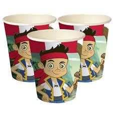 Jake and the Neverland Pirates - cups
