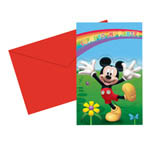 Mickeys Colours - Invitations