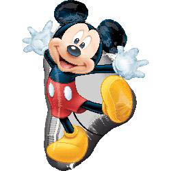 Mickey Mouse Full Body Supershape Mylar Balloons