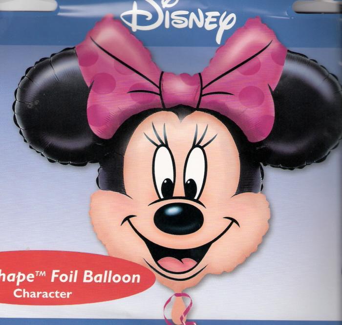 Minnie Mouse - Supershape Mylar Balloon
