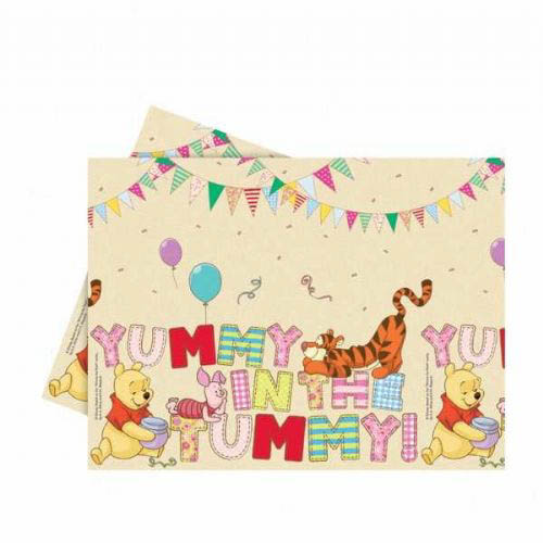 Pooh Alphabet Tablecloth