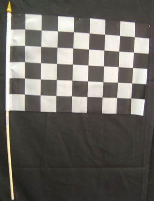 "Racing Heat Racing Flag 11"" * 18"""