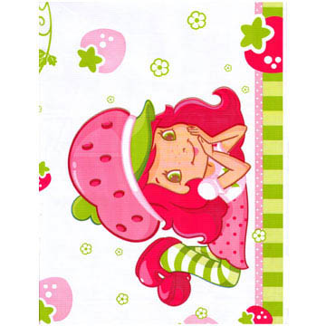 Strawberry Shortcake - Plastic Tablecloth - 135cm * 222cm