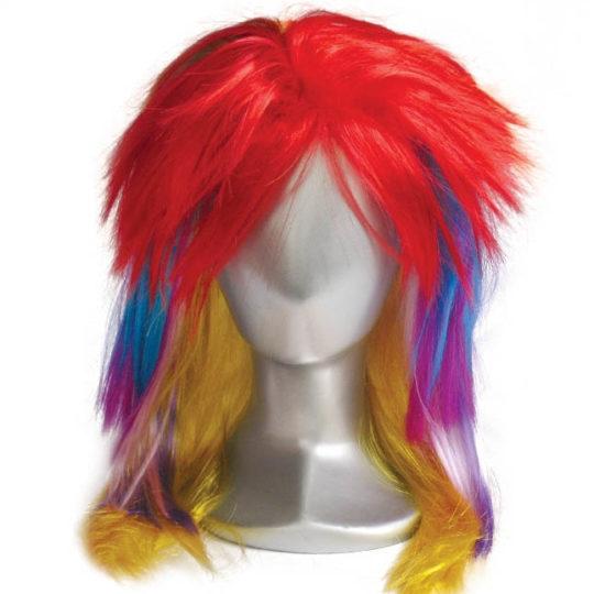 Punk multi wig