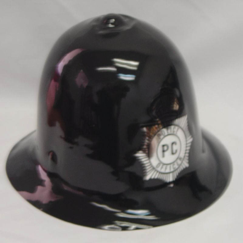 Plastic Policeman Helmet