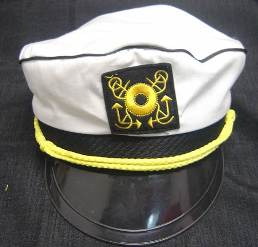 Sailors Captain Hat - Material