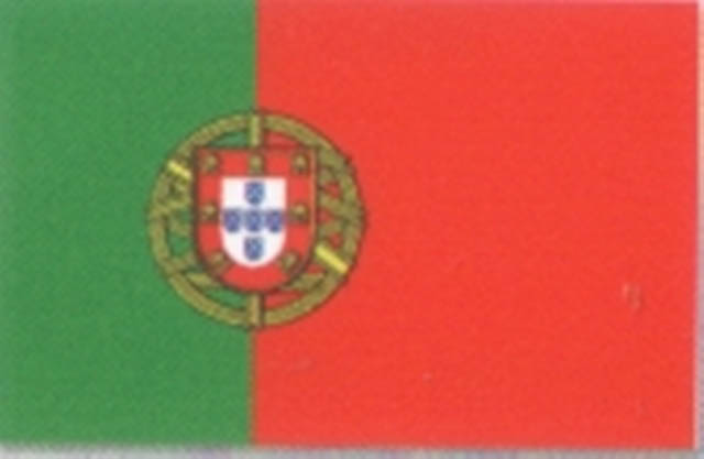 Flag Material - 5ft * 3ft - Portugal