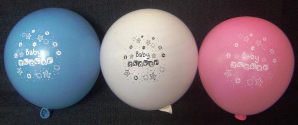 Baby Shower Assorted Standard Balloons