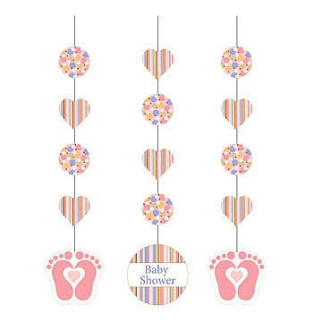 Pink Dangling Decor