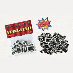 Clapper board Confetti