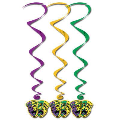 Mardi Gras Danglers - 91cm