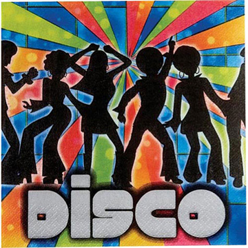Disco Theme - Disco Serviettes