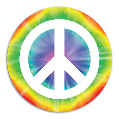 Hippie Theme - Peace Cutout