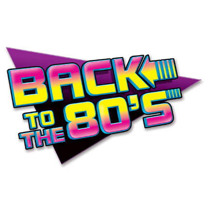 Back to 80s sign
