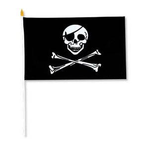 Pirate Rayon Flag - 27.5cm * 45cm