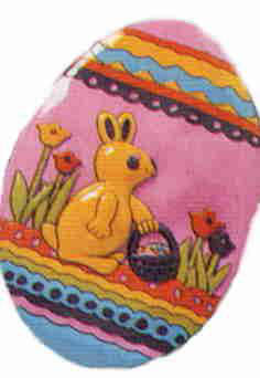 Wall Decoration - Easter egg - small - 26cm * 38cm