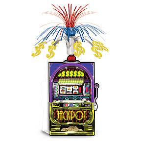 Slot Machine Centerpiece 13cm * 36cm