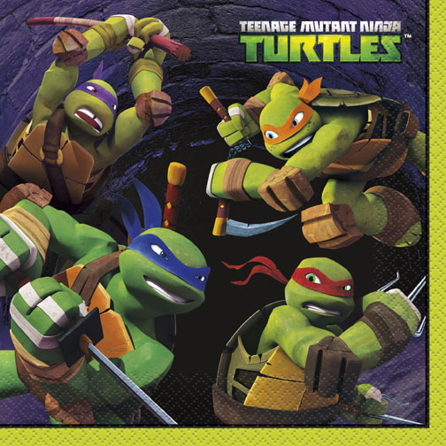 Teenage Mutant Ninja Turtles Luncheon Serviettes