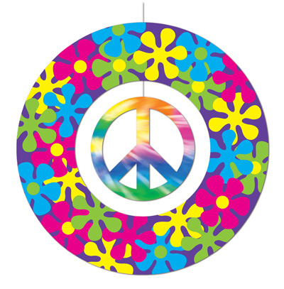 Hippie Peace Sign Mobile Parties4africa Party Supplies